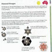 Matilda's Own Diamond Hexagon Patchwork Template Set by Matilda's Own Quilt Blocks - OzQuilts