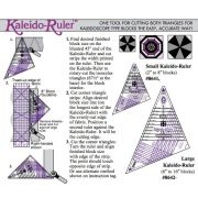 "Marti Michell Small Kaleido Ruler, For 2"" to 8"" Blocks by Marti Michell Quilt Blocks - OzQuilts"