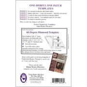 Marti Michell 60 Degree Diamond Patchwork Template by Marti Michell Quilt Blocks - OzQuilts