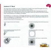 """Matilda's Own 12"""" Sunburst Patchwork Template Set by  - Quilt Blocks"""