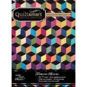 Quiltsmart Tumbling Blocks Pattern & Printed Fusible Interfacing Quilt Kit by Quiltsmart - Quiltsmart Kits