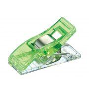 Clover Wonder Clips Neon Green (10) by Clover - Wonder Clips & Hem Clips
