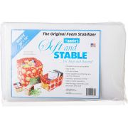 """Soft and Stable Sew in Bag Batting By Annie 36"""" x 58"""" by ByAnnie - Pre-Cut Batts"""