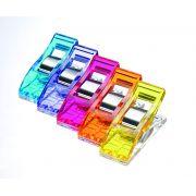 Clover Wonder Clips Assorted Colours (10) by Clover - Wonder Clips & Hem Clips