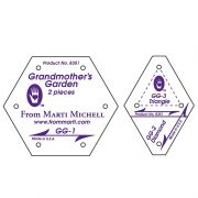 Marti Michell Grandmothers Garden Template Set by Marti Michell - Quilt Blocks