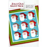 Jolly Old St Nick Pattern by Art to Heart by Art to Heart - Christmas