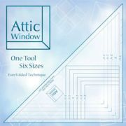 Attic Window Ruler by Cheryl Phillips by Phillips Fiber Art Specialty Rulers - OzQuilts