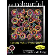Catch Me If You Can by Jacqueline de Jongue by BeColourful Quilts by Jacqueline de Jongue Patterns & Foundation Papers - OzQuilts