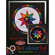 Bright Star Pattern by Jacqueline de Jongue by BeColourful Quilts by Jacqueline de Jongue Patterns & Foundation Papers - OzQuilts