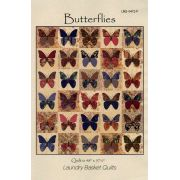 Butterflies Pattern by Edyta Sitar of Laundry Basket Quilts by Edyta Sitar of Laundry Basket Quilts Quilt Patterns - OzQuilts