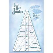 Gem Jewel Box Junior Ruler by Cheryl Phillips by Phillips Fiber Art - Wedge Rulers