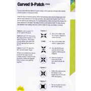 Matilda's Own Curved 9 Patch Patchwork Template Set by Matilda's Own - Quilt Blocks