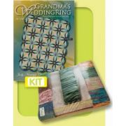 Grandma's Wedding Ring Fabric Quiltworx Quilt Kit by Judy Niemeyer by Quiltworx - Quilt Kits