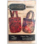 Quiltsmart Smart Bag Pattern & Printed Interfacing Kit by Quiltsmart - Quiltsmart Kits