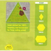 Matilda's Own Small 60 Degree Triangle Patchwork Template Set by Matilda's Own Geometric Shapes - OzQuilts