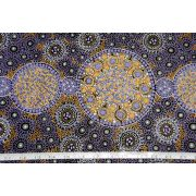 Fresh Life After Rain Purple Australian Aboriginal Art Fabric by Christine Doolan by M & S Textiles - Cut from the Bolt