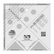 """Creative Grids Cat's Cradle Tool 7"""" x 7"""" by Creative Grids Specialty Rulers - OzQuilts"""