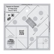 Creative Grids Square on Square 6in Trim Tool by Creative Grids - Square It Up Rulers