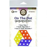 QTools On The Dot Repositionable Ruler Markers by Quilt with Marci Baker Accessories - OzQuilts