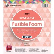 """Matilda's Own Double Sided Fusible Foam, 18"""" x 58"""" by Matilda's Own - Pre-Cut Batts"""