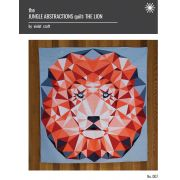 Jungle Abstractions Lion Quilt Pattern by Violet Craft - Abstractions Patterns Violet Craft