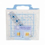 "June Tailor Mini Cut N Press Mat 5"" x 5"" with 1"" x 6"" Ruler by June Tailor - Cutting Mats"