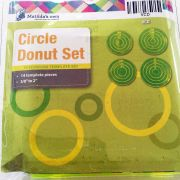 Matildas Own Circle Donut Patchwork Template Set by Matilda's Own Geometric Shapes - OzQuilts
