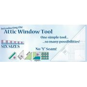 Attic Window Ruler by Cheryl Phillips by Phillips Fiber Art - Specialty Rulers