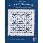 Star of Chamblie - A Feathered Star Sampler Quilt by  - Reproduction & Traditional