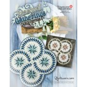Seasonal Gatherings Table Toppers or Wall Hanging by Judy Niemeyer by Quiltworx - Patterns & Foundation Papers