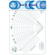 Cut A Round Ruler by Cheryl Phillips by Phillips Fiber Art - Circle Rulers