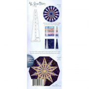 Gem 30 Jewel Box Ruler by Cheryl Phillips by Phillips Fiber Art Wedge Rulers - OzQuilts