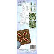 Squedge 11.25 Degree Ruler by Cheryl Phillips by Phillips Fiber Art Wedge Rulers - OzQuilts