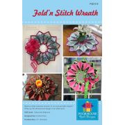 Fold'n Stitch Wreath Pattern by PoorHouse Quilt Designs Christmas - OzQuilts