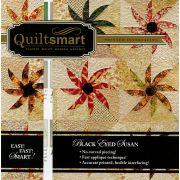 Quiltsmart Black Eyed Susan Pattern & Printed interfacing Quilt Kit by Quiltsmart Quiltsmart Kits - OzQuilts