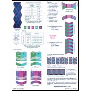 Simple Curves Ruler by Cheryl Phillips by Phillips Fiber Art - Scallops, Wave, Curve Rulers