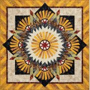 Tarnished Windmill by Judy Niemeyer by Quiltworx Patterns & Foundation Papers - OzQuilts