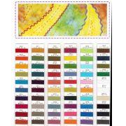 Spagetti Thread Colour Chart by Wonderfil Spagetti 12wt Cotton Solids - Thread Colour Charts