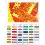 Frutti Thread Colour Chart by Wonderfil Colour Card Booklets - Thread Colour Charts