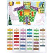 Tutti Thread Colour Chart by Wonderfil Tutti 50wt Cotton Variegated - Thread Colour Charts