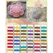 Sue Spargo Razzle Thread Colour Chart by Wonderfil Colour Card Booklets - Sue Spargo Razzle Rayon