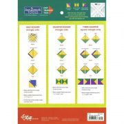 Fast2mark Easy Triangle Tool by C&T Publishing - Quilt Blocks