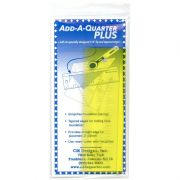 "Add-A-Quarter 6"" Plus (2 inch x 6 inch) Yellow by CM Designs Add A Quarter Rulers - OzQuilts"