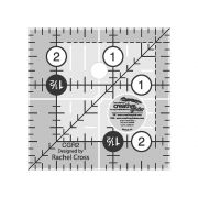 "Creative Grids Ruler 2.5"" Square by Creative Grids Square Rulers - OzQuilts"