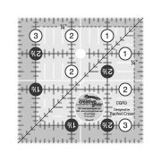 "Creative Grids Ruler 3.5"" Square by Creative Grids - Square Rulers"