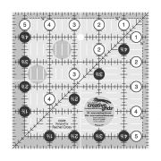 "Creative Grids Ruler 5.5"" Square by Creative Grids Square Rulers - OzQuilts"