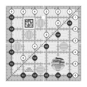 """Creative Grids Ruler 6½"""" Square by Creative Grids - Square Rulers"""