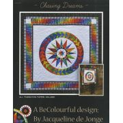 Chasing Dreams Quilt Pattern by Jacqueline de Jongue by BeColourful Quilts by Jacqueline de Jongue - Patterns & Foundation Papers
