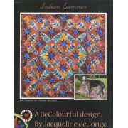 Indian Summer Quilt Pattern by Jacqueline de Jongue by BeColourful Quilts by Jacqueline de Jongue Patterns & Foundation Papers - OzQuilts