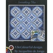 Something Blue by Jacqueline de Jongue by BeColourful Quilts by Jacqueline de Jongue Patterns & Foundation Papers - OzQuilts